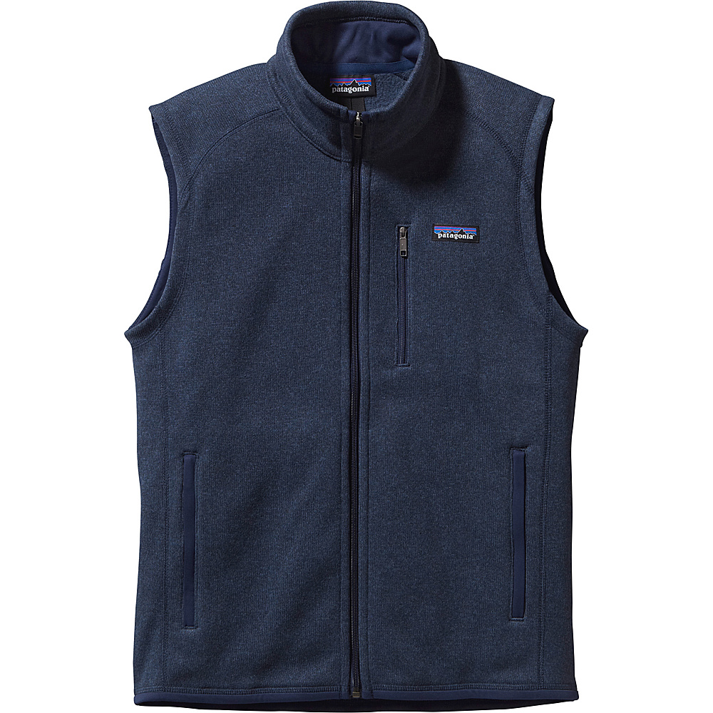 Patagonia Mens Better Sweater Vest S - Classic Navy - Patagonia Mens Apparel - Apparel & Footwear, Men's Apparel