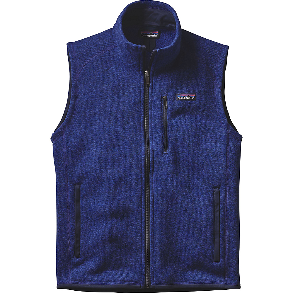 Patagonia Mens Better Sweater Vest S - Harvest Moon Blue - Patagonia Mens Apparel - Apparel & Footwear, Men's Apparel