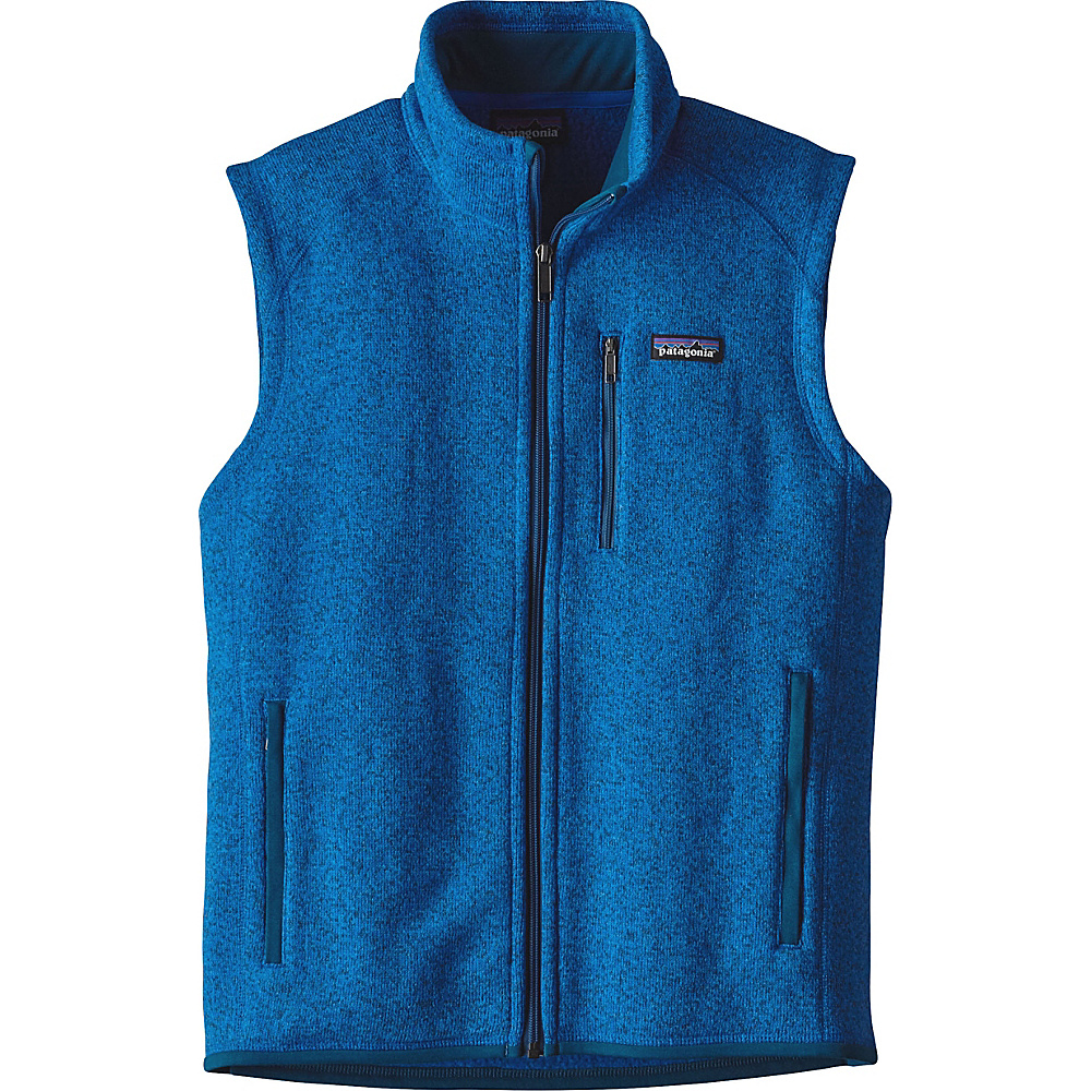 Patagonia Mens Better Sweater Vest S - Andes Blue - Patagonia Mens Apparel - Apparel & Footwear, Men's Apparel