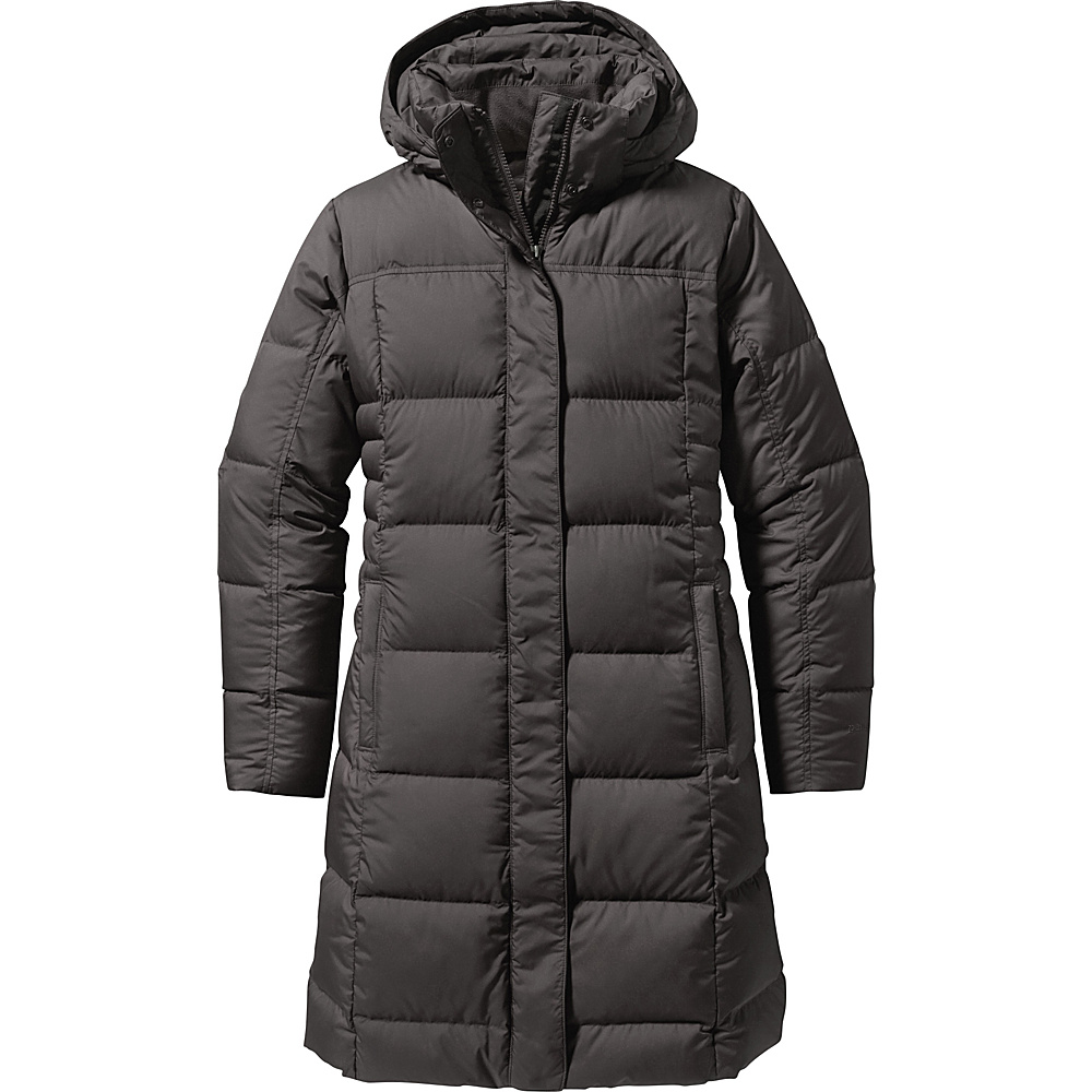 Patagonia Womens Down With It Parka XS - Forge Grey - Patagonia Womens Apparel - Apparel & Footwear, Women's Apparel