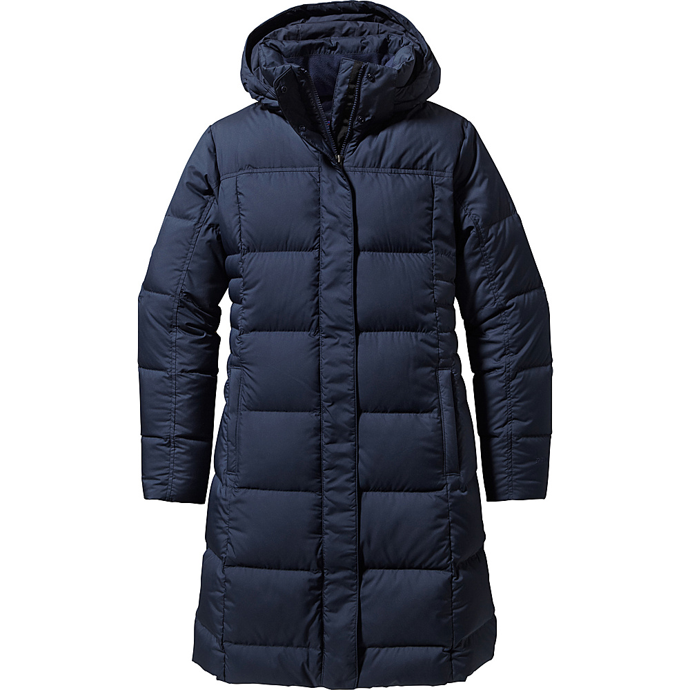 Patagonia Womens Down With It Parka XS - Navy Blue - Patagonia Womens Apparel - Apparel & Footwear, Women's Apparel