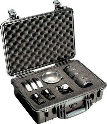 Pelican 1550-000-110 1550 Medium Hard Case with Foam Black - Pelican Camera Accessories