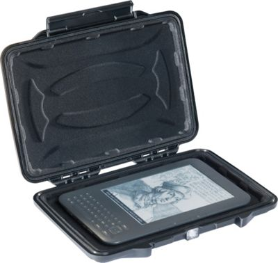 Pelican 1055-003-110 1055CC HardBack Case with Liner for 7 inch Tablets or eReaders Black - Pelican Electronic Cases