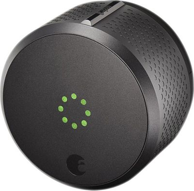 August Home Smart Lock Homekit Enabled Dark Gray - August Home Smart Home Automation
