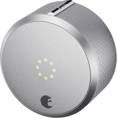August Home Smart Lock Homekit Enabled Silver - August Home Smart Home Automation