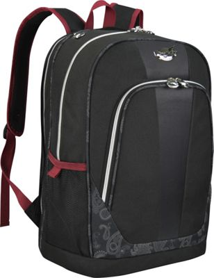 Bret Michaels Luggage Classic Road 19 inch Laptop Backpack Black - Bret Michaels Luggage Business & Laptop Backpacks