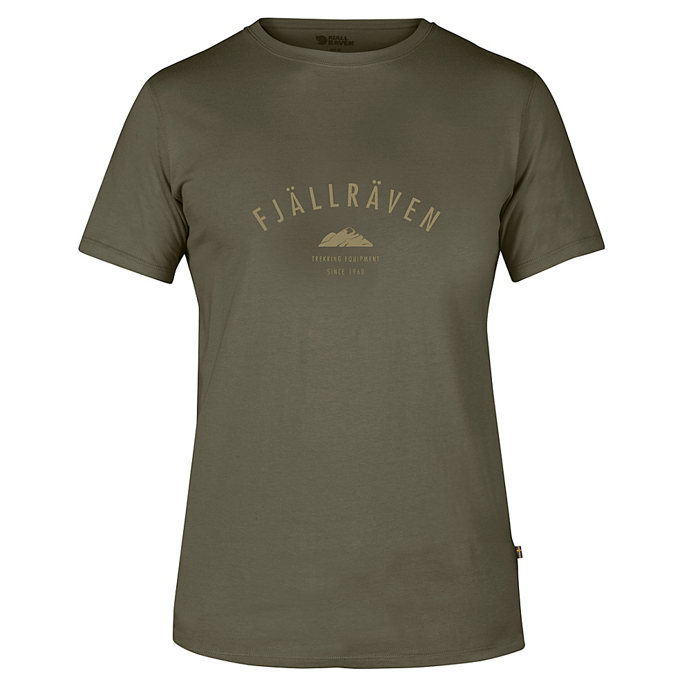 Fjallraven Trekking Equipment T-Shirt S - Tarmac - Fjallraven Mens Apparel - Apparel & Footwear, Men's Apparel