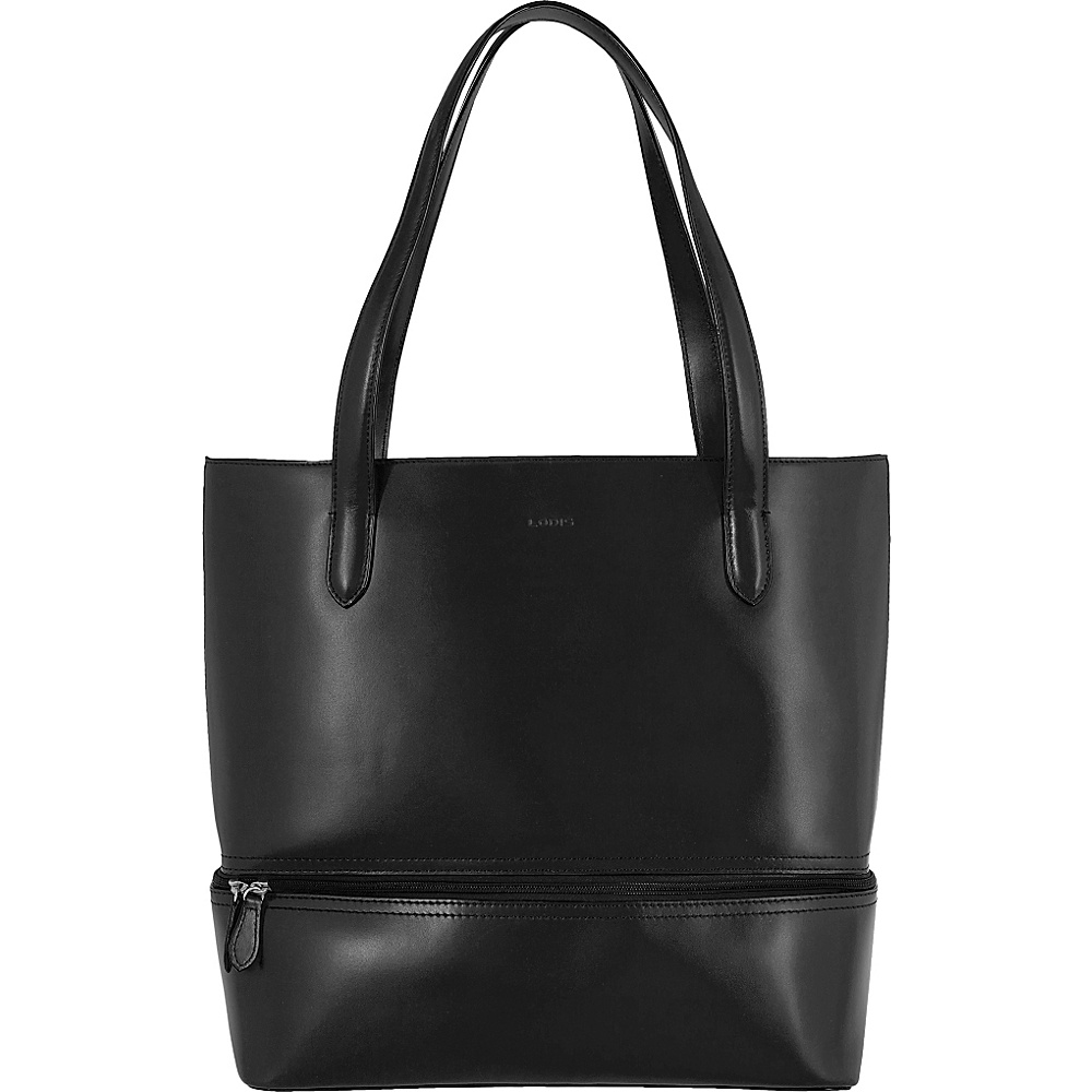 Lodis Audrey Amil Commuter Tote Black - Lodis Leather Handbags - Handbags, Leather Handbags