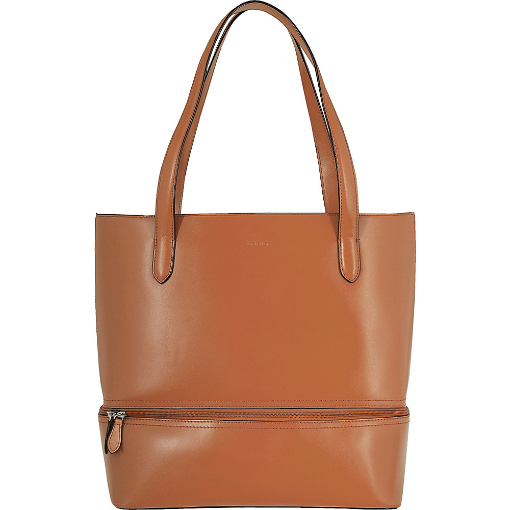 Lodis Audrey Amil Commuter Tote Toffee - Lodis Leather Handbags - Handbags, Leather Handbags