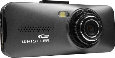 Whistler Group 720p HD Automotive DVR / Dashcam with 2.7 inch LCD Black - Whistler Group Car Travel