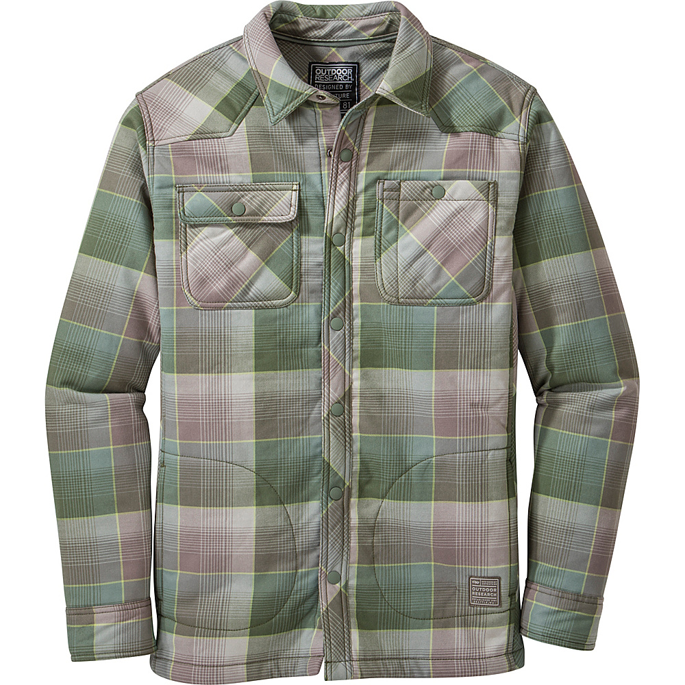 Outdoor Research Sherman Jacket S - Kale/Sage - Outdoor Research Mens Apparel - Apparel & Footwear, Men's Apparel