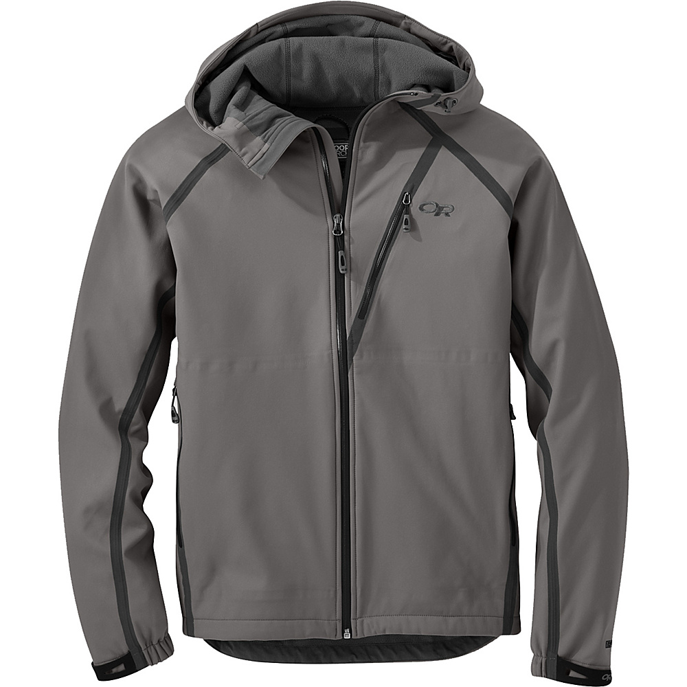 Outdoor Research Mithril Jacket M - Pewter - Outdoor Research Mens Apparel - Apparel & Footwear, Men's Apparel
