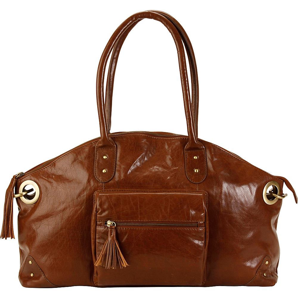 Hadaki Satchel Rustico - Hadaki Leather Handbags - Handbags, Leather Handbags