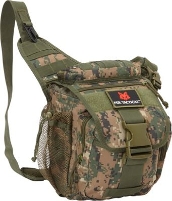 Fox Outdoor Advanced Tactical Hipster Digital Woodland - Fox Outdoor Day Hiking Backpacks