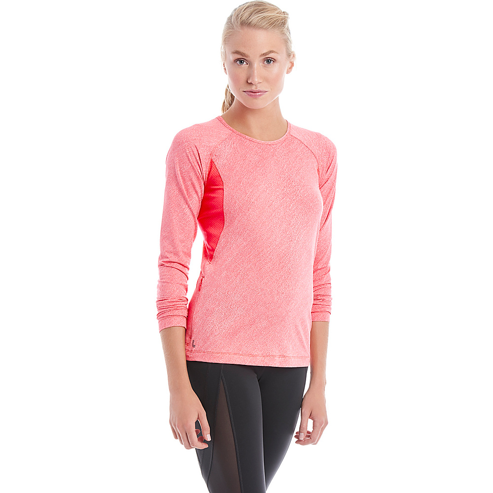 Lole Lynnew Top L - Reflector Pink - Lole Womens Apparel - Apparel & Footwear, Women's Apparel