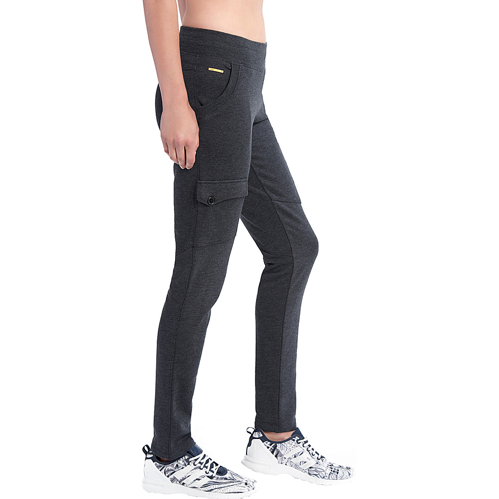 Lole Gary Pants S - Black Heather - Lole Womens Apparel - Apparel & Footwear, Women's Apparel