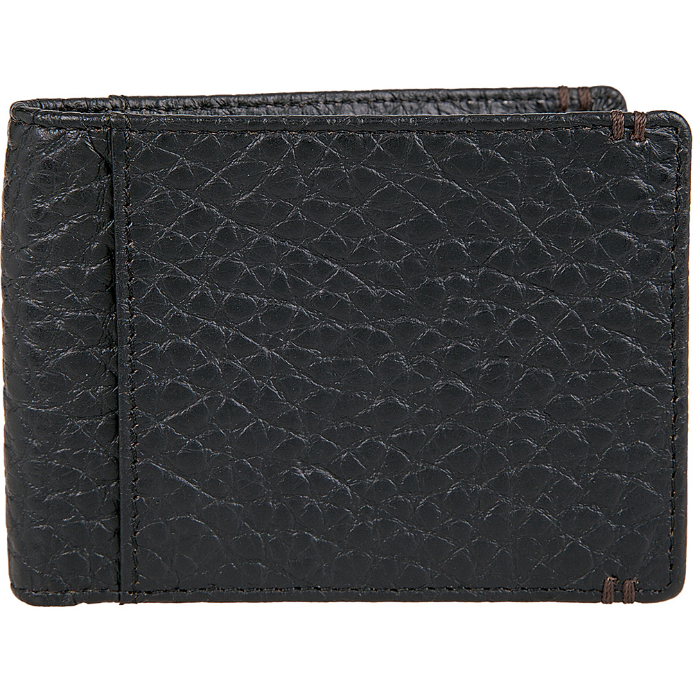 Lodis Borrego Under Lock and Key Small Billfold Black - Lodis Mens Wallets - Work Bags & Briefcases, Men's Wallets