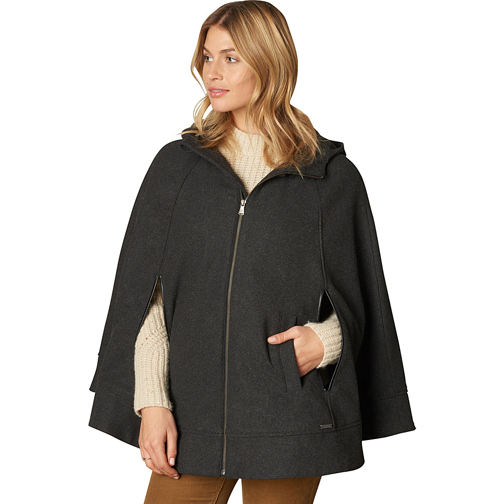 PrAna Whitney Cape Charcoal Heather - L/XL - PrAna Womens Apparel - Apparel & Footwear, Women's Apparel