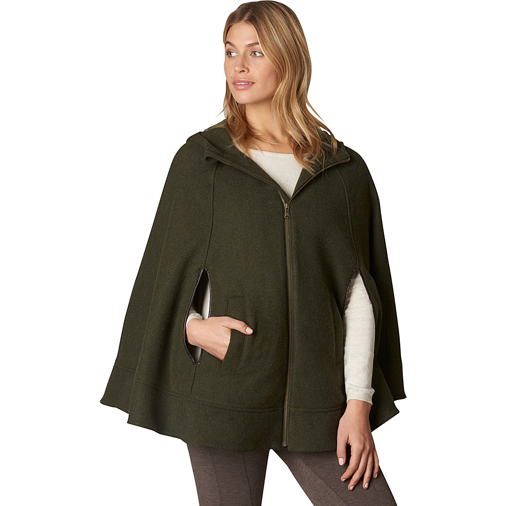 PrAna Whitney Cape Dark Green Heather - S/M - PrAna Womens Apparel - Apparel & Footwear, Women's Apparel