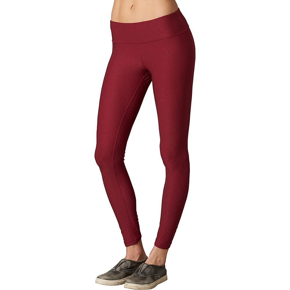 PrAna Misty Legging XL - Red Jacquard - PrAna Womens Apparel - Apparel & Footwear, Women's Apparel