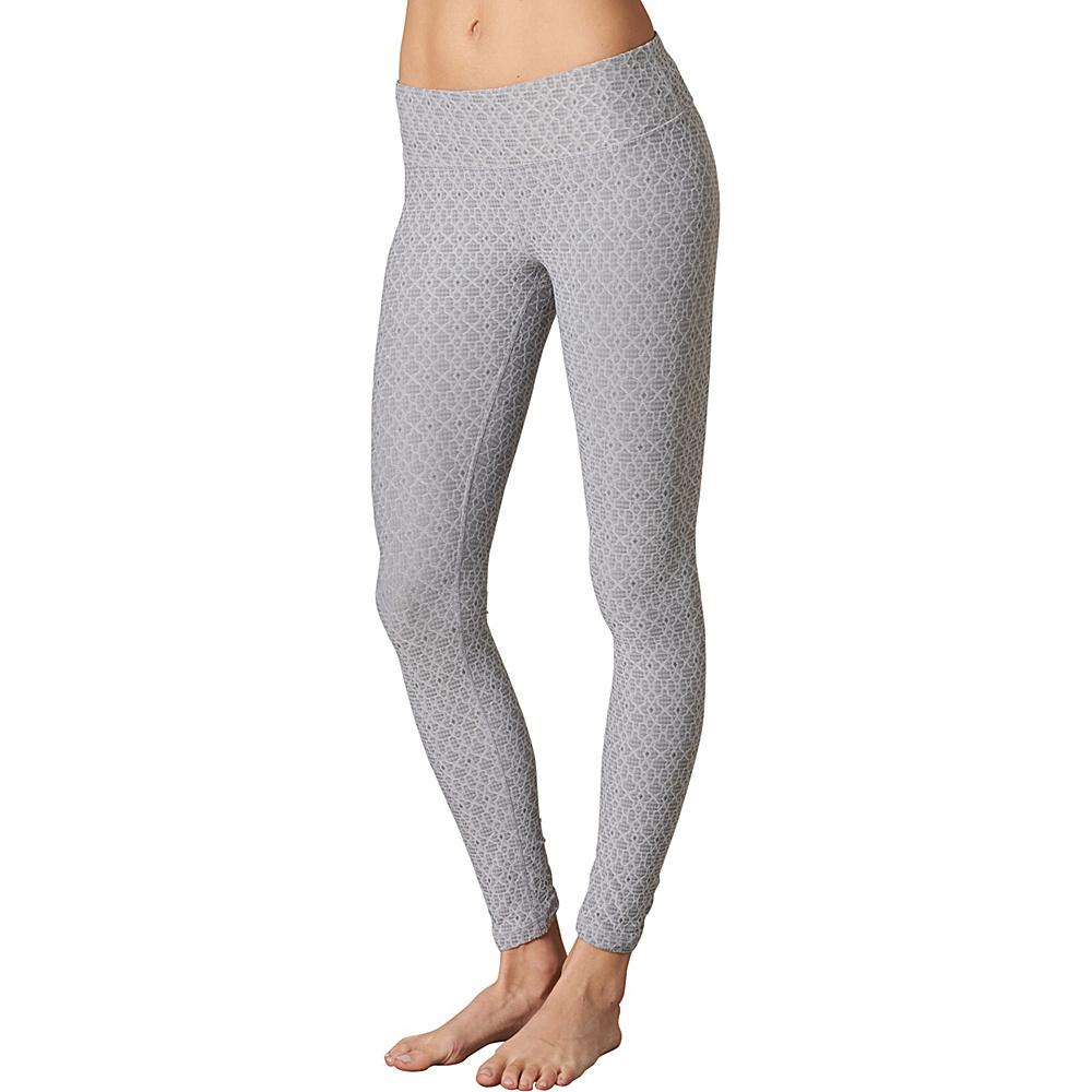 PrAna Misty Legging XL - Silver Jacquard - PrAna Womens Apparel - Apparel & Footwear, Women's Apparel