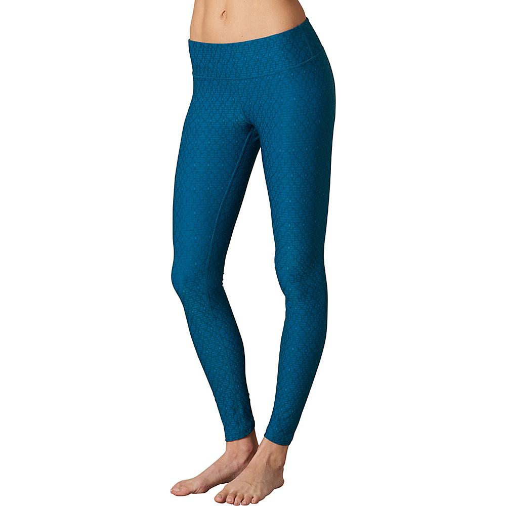 PrAna Misty Legging L - Teal Jacquard - PrAna Womens Apparel - Apparel & Footwear, Women's Apparel