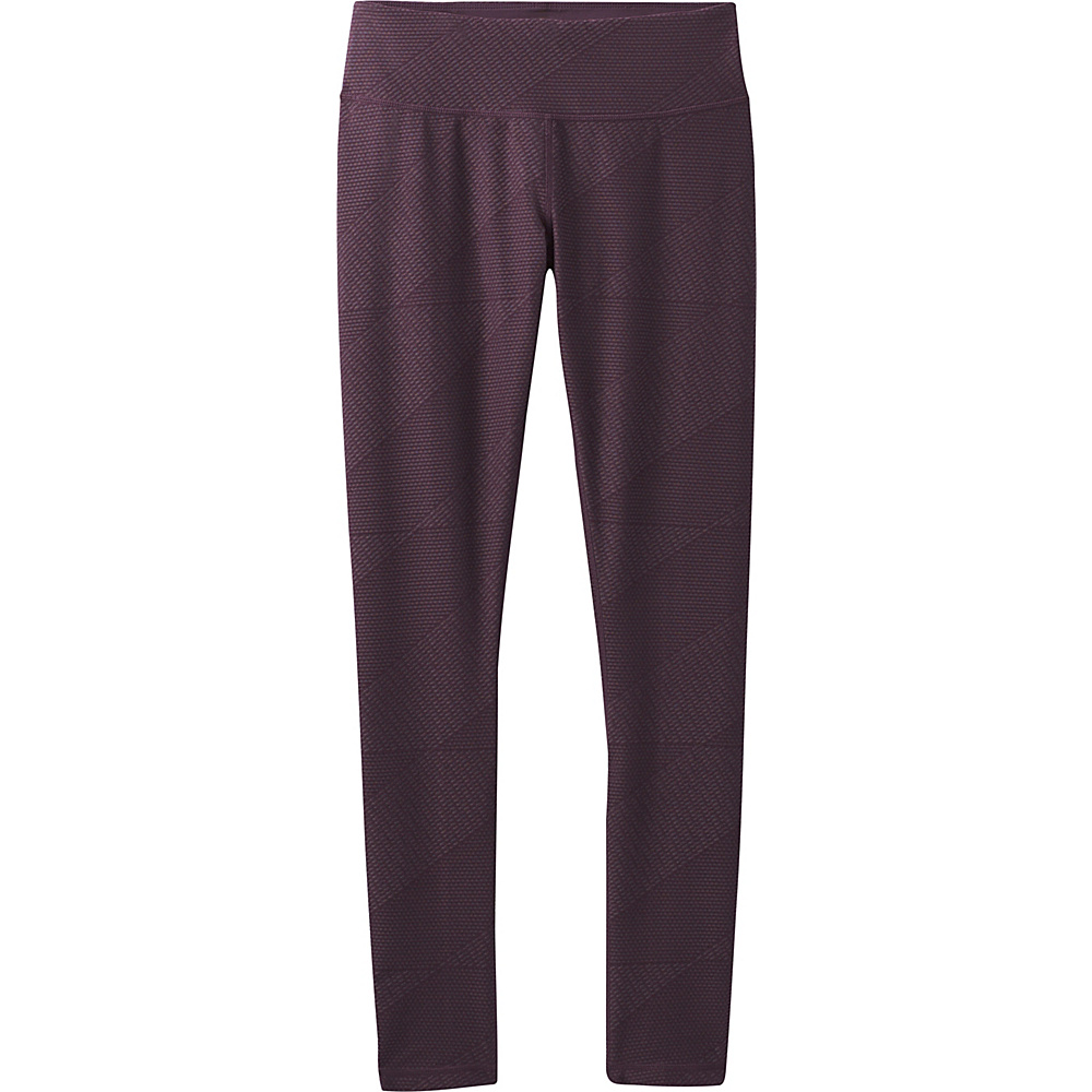 PrAna Misty Legging XS - Dark Plum Geo - PrAna Womens Apparel - Apparel & Footwear, Women's Apparel