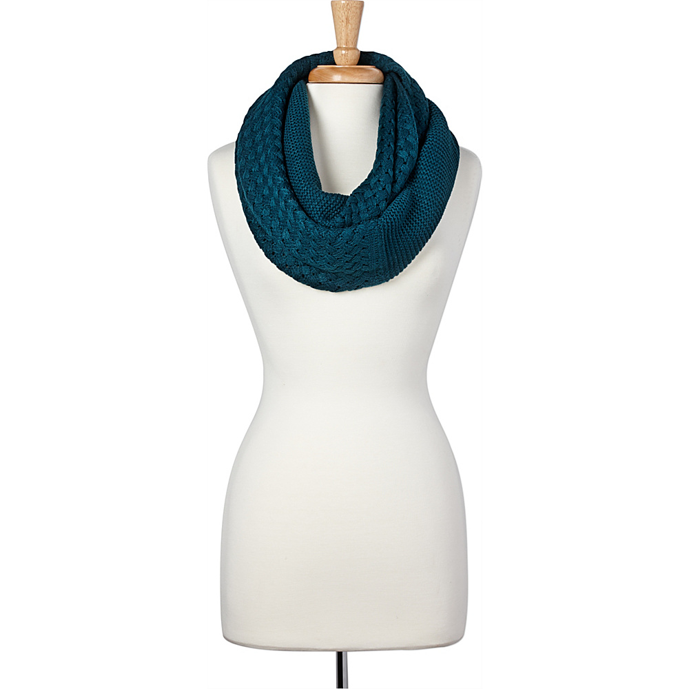 PrAna Viva Scarf Deep Teal - PrAna Hats/Gloves/Scarves - Fashion Accessories, Hats/Gloves/Scarves