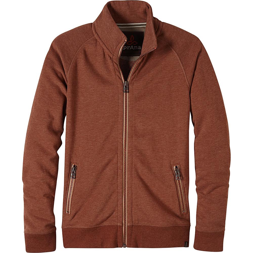 PrAna Lifetime Full Zip Mock XL - Auburn - PrAna Mens Apparel - Apparel & Footwear, Men's Apparel