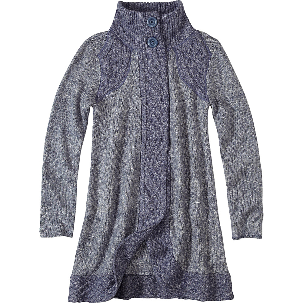 PrAna Angelica Duster M - Gray Indigo - PrAna Womens Apparel - Apparel & Footwear, Women's Apparel