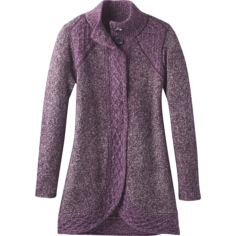 PrAna Angelica Duster M - Dark Plum - PrAna Womens Apparel - Apparel & Footwear, Women's Apparel