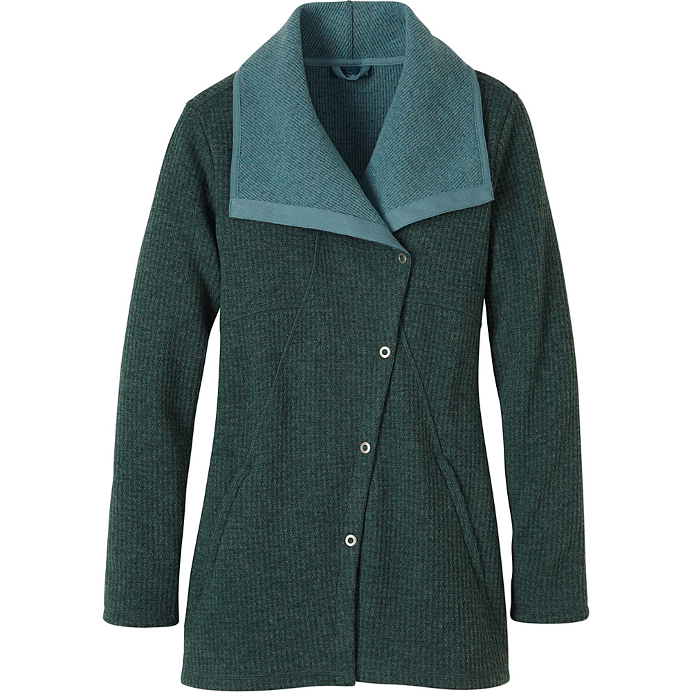 PrAna Milana Jacket M - Deep Teal - PrAna Womens Apparel - Apparel & Footwear, Women's Apparel