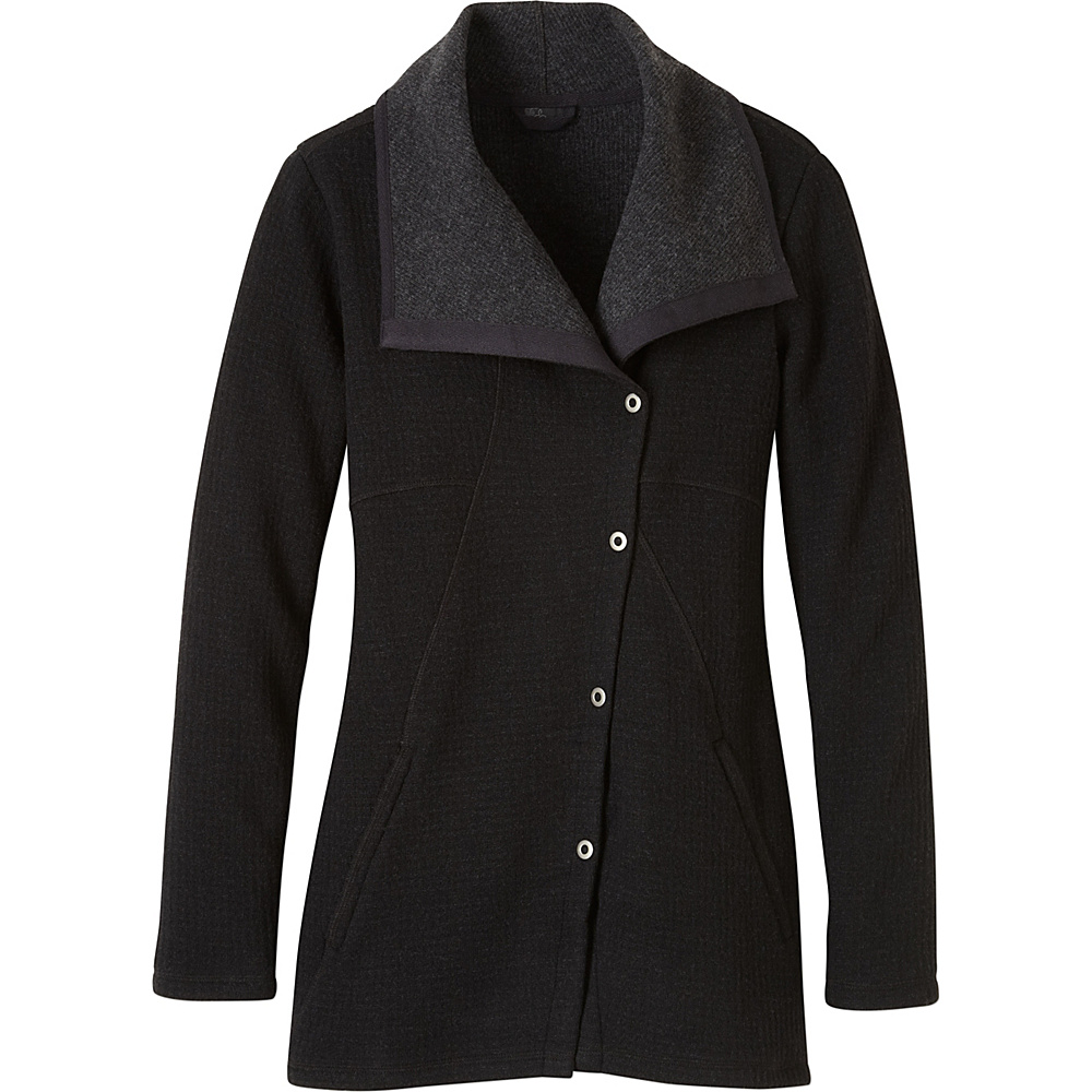 PrAna Milana Jacket L - Black - PrAna Womens Apparel - Apparel & Footwear, Women's Apparel