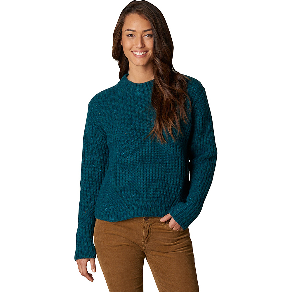PrAna Cedric Sweater XL - Deep Teal - PrAna Womens Apparel - Apparel & Footwear, Women's Apparel
