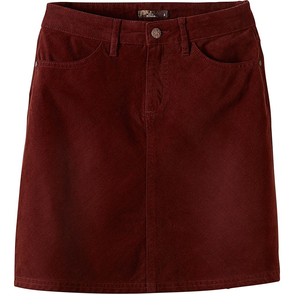 PrAna Trista Skirt 2 - Dark Umber - PrAna Womens Apparel - Apparel & Footwear, Women's Apparel