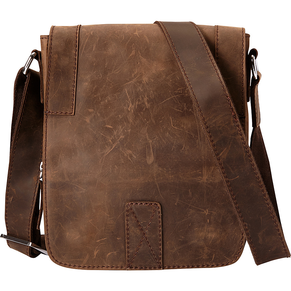Vagabond Traveler Full Grain Leather Satchel Handbag Vintage Brown - Vagabond Traveler Other Mens Bags - Work Bags & Briefcases, Other Men's Bags