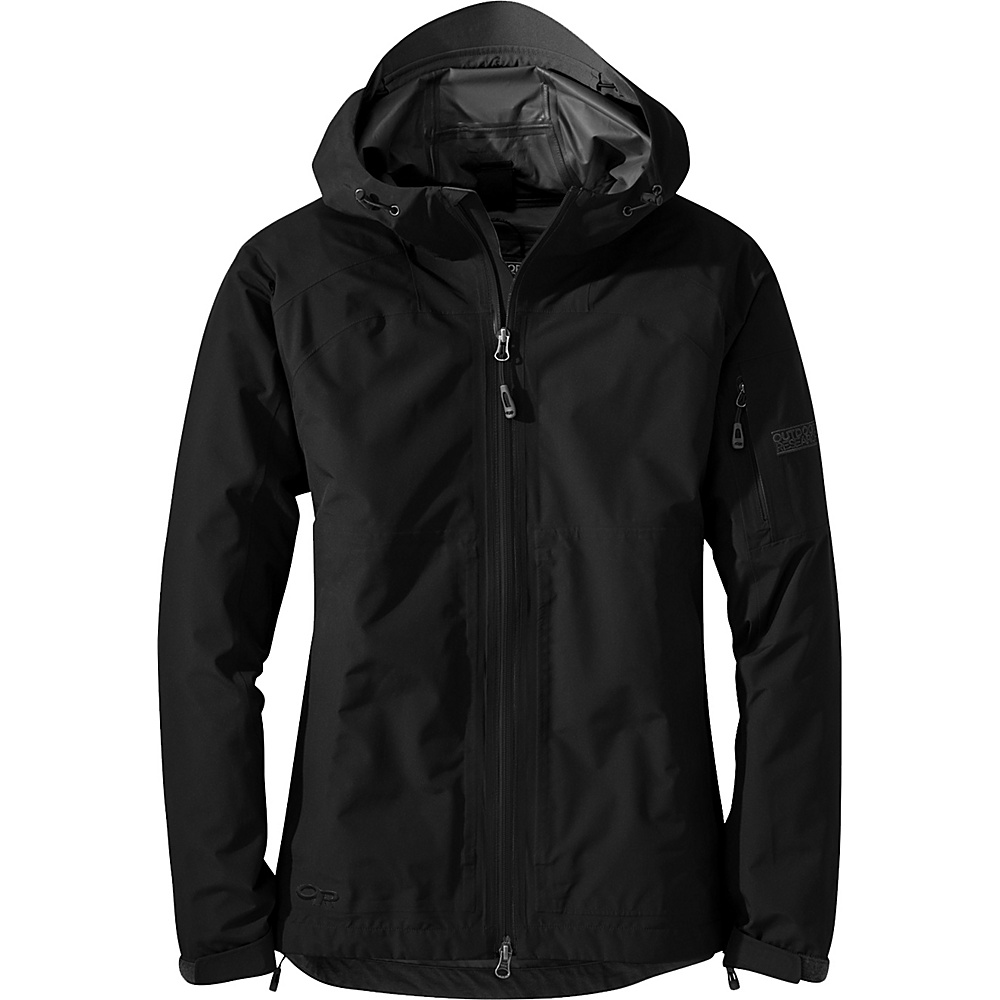Outdoor Research Womens Aspire Jacket XL - Black - Outdoor Research Womens Apparel - Apparel & Footwear, Women's Apparel