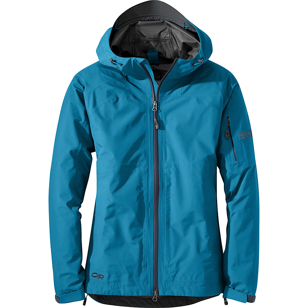 Outdoor Research Womens Aspire Jacket S - Oasis - Outdoor Research Womens Apparel - Apparel & Footwear, Women's Apparel