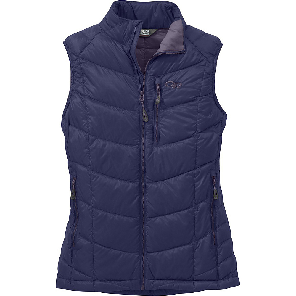 Outdoor Research Womens Sonata Vest L - Blue Violet/Fig - Outdoor Research Womens Apparel - Apparel & Footwear, Women's Apparel