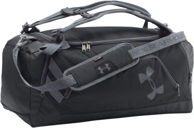Under Armour Contain 3.0 Black Graphite Graphite - Under Armour Gym Duffels