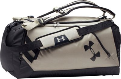 Under Armour Contain 3.0 Greystone/ Black/ Black - Under Armour Gym Duffels