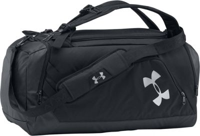 Under Armour Contain 3.0 Black / Black / Silver - Under Armour Gym Duffels