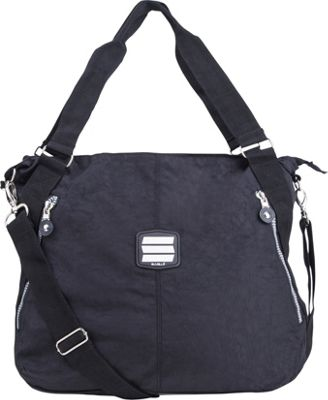 Suvelle Everyday Travel Tote Black - Suvelle Fabric Handbags