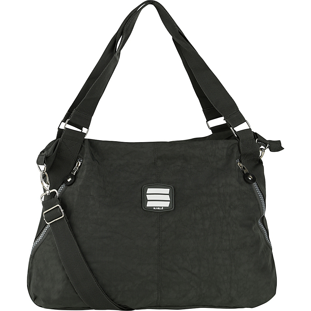 Suvelle Everyday Travel Tote Grey Suvelle Fabric Handbags