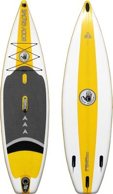 Body Glove Inflatable Stand-Up Paddleboard White/Yellow - Body Glove Sports Accessories