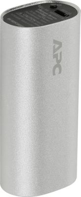 APC 3000mAh Lithium Ion Battery Power Pack Silver - APC Portable Batteries & Chargers