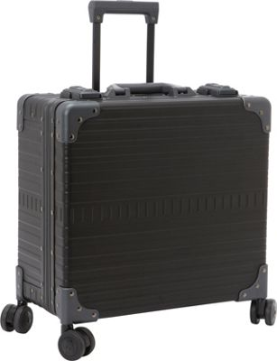 Aleon 17 Deluxe Wheeled Briefcase Onyx - Aleon Wheeled Business Cases