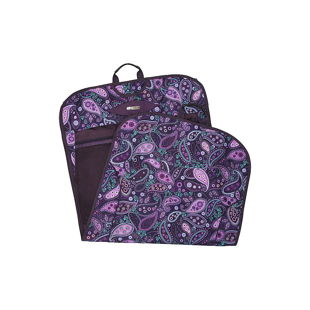 73bcbb6ac1 UPC 018982001502 product image for Ricardo Beverly Hills Essentials Deluxe  Garment Carrier Midnight Paisley - Ricar ...