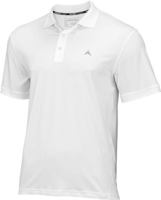Arctic Cool Mens Instant Cooling Polo L - Arctic White - Arctic Cool Men's Apparel