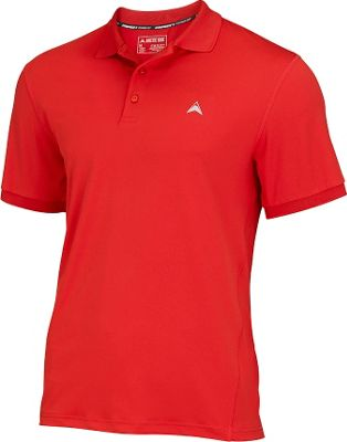 Arctic Cool Mens Instant Cooling Polo M - Infra Red - Arctic Cool Men's Apparel